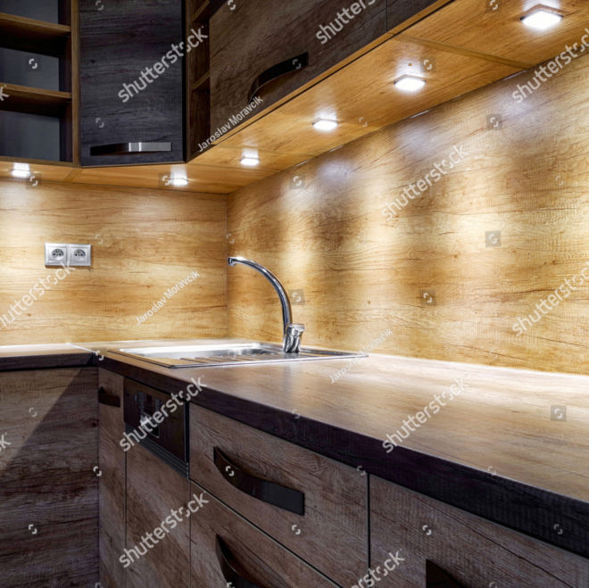 stock-photo-brown-kitchen-unit-modern-furniture-with-led-lights-2014846949 copy