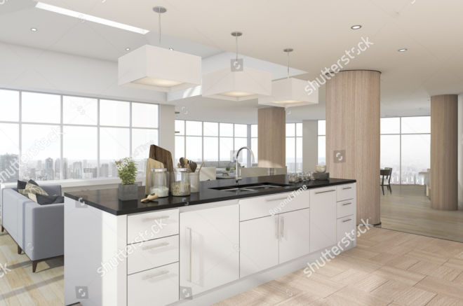 stock-photo--d-rendering-kitchen-bar-with-accessory-near-living-room-637037851 copy